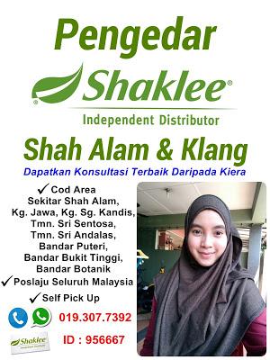 Pengedar Shaklee Shah Alam & Klang